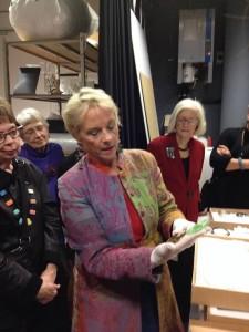 Behind the scenes with CODA museum curator in Apeldoorn, Netherlands