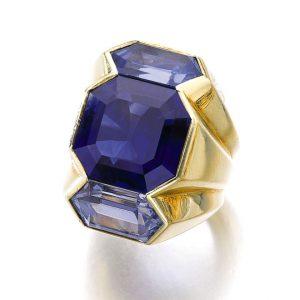Suzanne Belperron Sapphire Ring